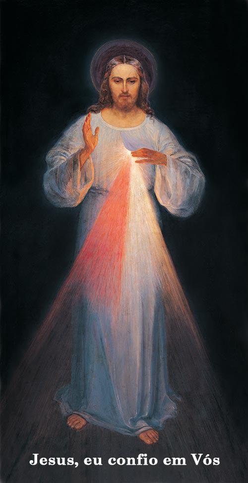 Extremamente Imagem de Jesus Misericordioso - Divina Misericórdia DZ25