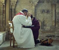 Comungar e depois se confessar?