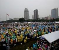 O Papa Francisco faz história! Mais de 6 milhões presentes na Missa campal em Manila