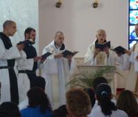 Monges Trapistas renovam os votos no Santuário da Divina Misericórdia