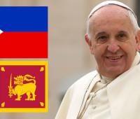 Programa completo da viagem do Papa ao Sri Lanka e Filipinas
