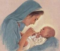 Mãe: Vamos homenagear também à Mãe de Deus