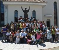 Delegação da Pastoral da Criança visita Santuário da Misericórdia