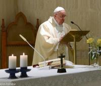 Papa Francisco: o medo nos faz mal e nos enfraquece