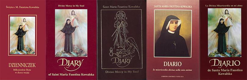 Diário de Santa Faustina em outros idiomas