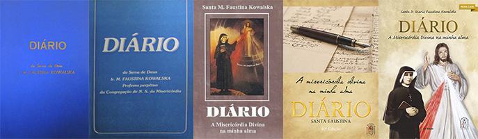 Publicação do Diário de Santa Faustina no Brasil ao longo dos anos. (1982-2015)