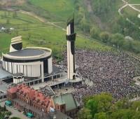 Festa da Divina Misericórdia em Cracóvia, Polônia (2014)