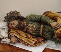 A imagem de São José dormindo que o Papa tem em seu quarto