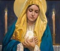 Maria quer te ajudar a acreditar na Eucaristia