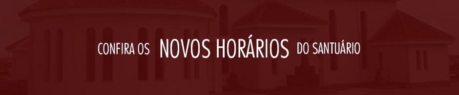 Banner Novos Horários