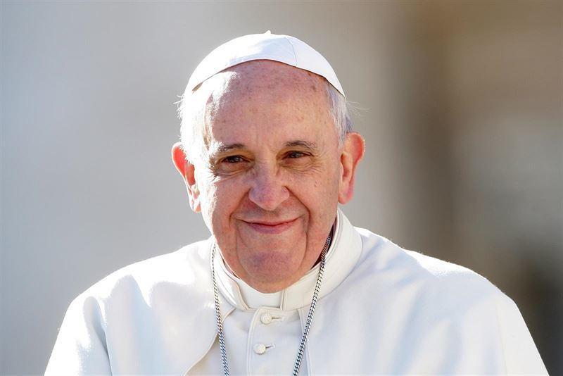 papa francisco sorriso