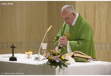 papa francisco missa