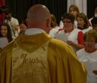 Apóstolos Eucarísticos fazem a Consagração no primeiro dia do Congresso!