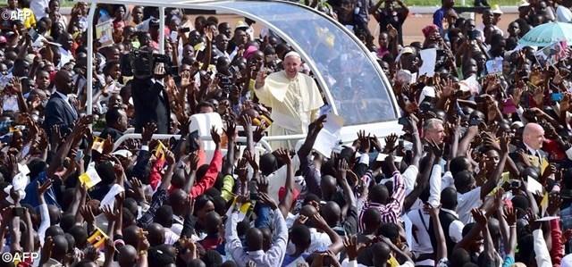Papa em Uganda