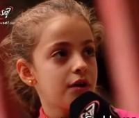 Vivendo em um campo de refugiados, menina cristã testemunha o amor de Deus
