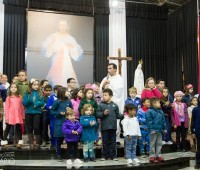 Missa pelas Famílias no Santuário da Divina Misericórdia