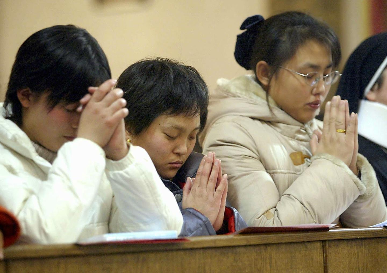 china-católicos