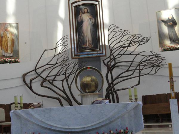 Santuário da Divina Misericórdia em Cracóvia. Foto: Padre Wladyslaw Milak