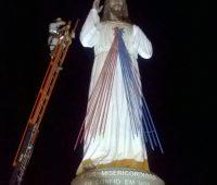 Presidente Venceslau ganha Imagem de Jesus Misericordioso