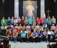Santuário recebe visita de peregrinos da Paróquia Santa Margarida