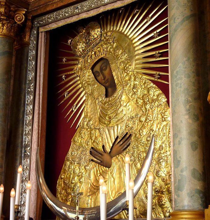 ícone da Mãe da Misericórdia