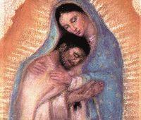 Juan Diego e Nossa Senhora de Guadalupe