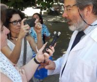 Médicos manifestam contra projeto de descriminalização do aborto no Chile