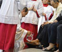 Missa Lava-Pés no Santuário da Divina Misericórdia