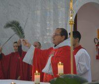 Missa de Ramos no Santuário da Divina Misericórdia