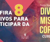 Confira 8 motivos para participar da Festa Nacional da Divina Misericórdia