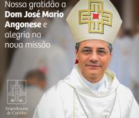 Dom José Mário Angonese é nomeado bispo da Diocese de Uruguaiana, RS