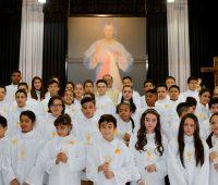 Primeira Eucaristia – Santuário da Divina Misericórdia 2017