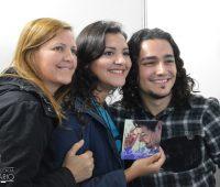 Sessão de autógrafos do Thiago Brado na Festa da Divina Misericórdia