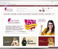 Nova Loja Virtual do Santuário da Divina Misericórdia