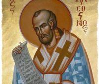 São João Crisóstomo: patrono dos pregadores