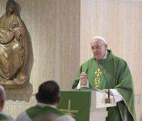 Papa afirma que um coração rígido não entende a misericórdia de Deus
