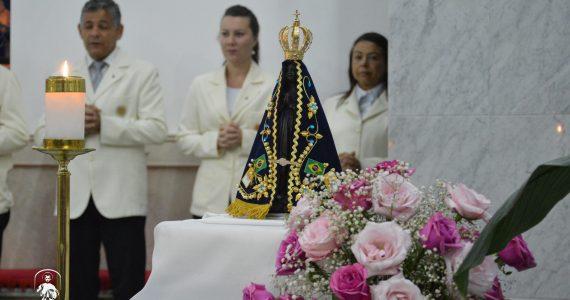Dia de Nossa Senhora Aparecida no Santuário da Divina Misericórdia