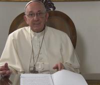 Mensagem em vídeo do Papa Francisco aos brasileiros pelos 300 anos de Aparecida