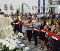 Santuário acolhe novos coroinhas e acólitos