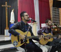 Noite de pregação com Maikon Máximo da Banda Anjos do Resgate