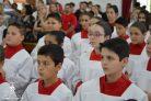 Missa de investidura dos novos coroinha do Santuário da Divina Misericórdia