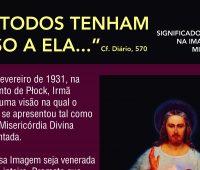 Infográfico: Conheça os significados teológicos na imagem de Jesus Misericordioso