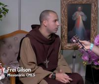 Ironi Spuldaro e Frei Gilson – CMES, falam sobre como levam a misericórdia no dia-a-dia