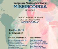 Santuário abre vagas para Congresso Nacional da Misericórdia 2018