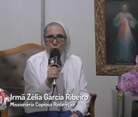 Irmã Zélia fala sobre como foi participar da Festa da Misericórdia