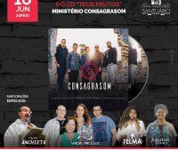 Santuário promove lançamento do CD da banda Consagrasom