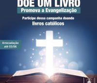 Editora Apostolado da Divina Misericórdia promove arrecadação de livros para doação