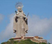 Estátua de Santa Rita de Cássia é a maior escultura religiosa do mundo