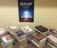Mais de 200 livros são arrecadados na campanha de evangelização da Editora Apostolado da Divina Misericórdia