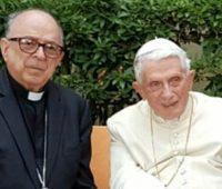 Dom Raymundo Damasceno encontra Emérito Bento XVI